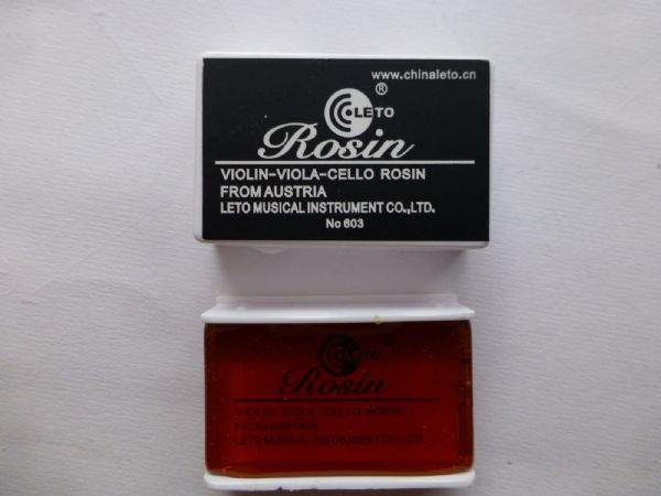 LETO SLIM ROSIN FOR VIOLIN, VIOLA OR CELLO, GREAT PRODUCT,  UK SELLER!